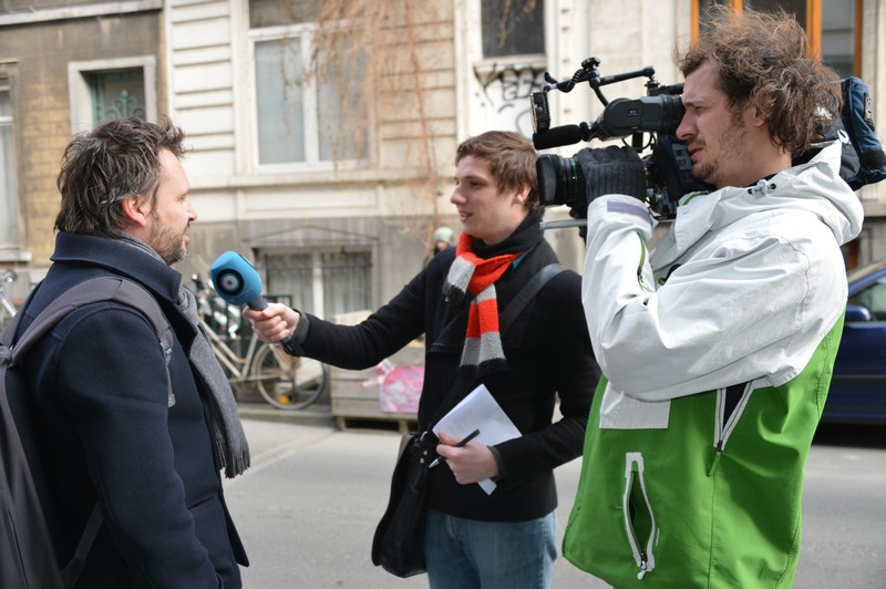 Interview télé
