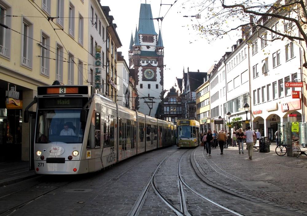 Freiburg Photo Le Centre Ville