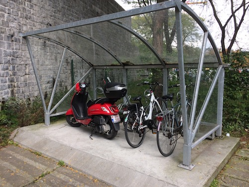 Parking vélo du Parlement wallon